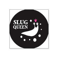 """Slug Queen Logo Square Sticker 3"""" x 3"""""""