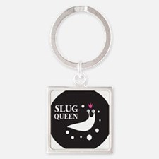 Slug Queen Logo Square Keychain