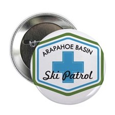 "Arapahoe Basin Ski Patrol 2.25"" Button"