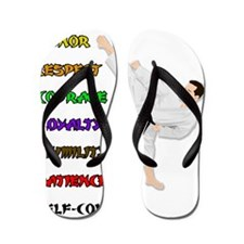 Live by the Creed Flip Flops