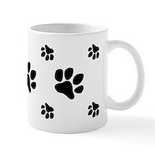 paw prints  3 Mug