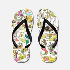 SLUG QUEEN 30th Anniversary Flip Flops