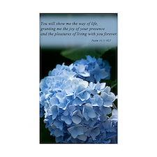 psalm 16 hydrangea Decal