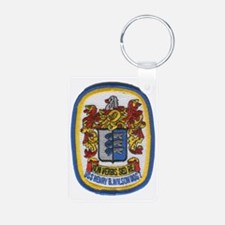 uss henry b wilson patch t Keychains