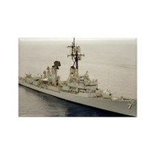 sp uss henry b wilson small poste Rectangle Magnet
