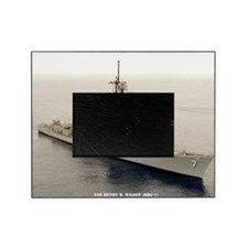sp uss henry b wilson small poster Picture Frame