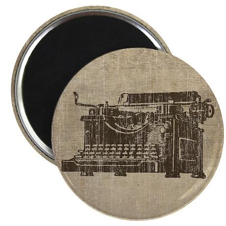 Vintage Typewriter Magnet