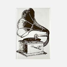 Vintage Phonograph Rectangle Magnet