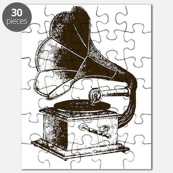 Vintage Phonograph Puzzle