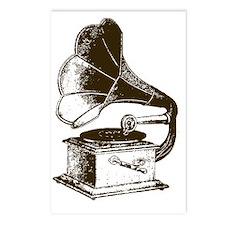 Vintage Phonograph Postcards (Package of 8)