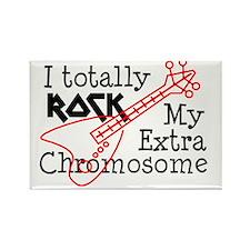 Rockin Chromosome Rectangle Magnet