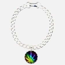 Rainbow Weed Bracelet