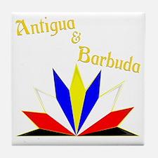 Antigua and Barbuda Tile Coaster