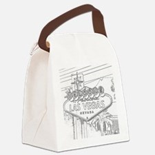 The Sign Canvas Lunch Bag