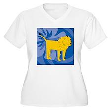 Lion Suede Pillow T-Shirt
