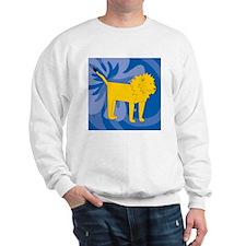 Lion Suede Pillow Sweatshirt