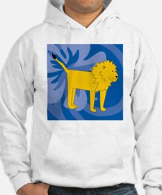Lion Suede Pillow Hoodie