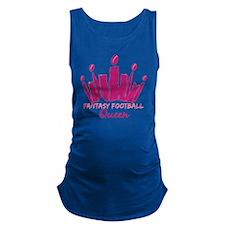 Fantasy Football Queen Maternity Tank Top