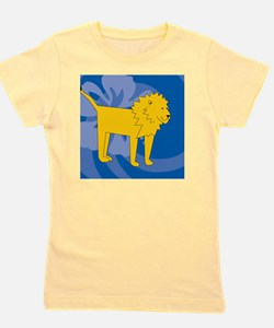 Lion Jewelry Case Girl's Tee
