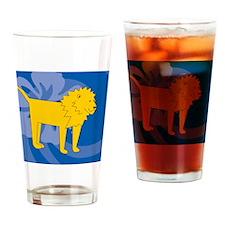 Lion Jewelry Case Drinking Glass