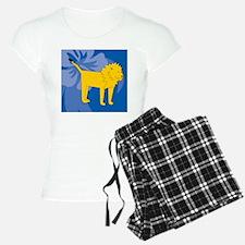 Lion Wine Label Pajamas