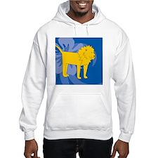Lion Round Coaster Hoodie