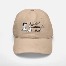 Kickin' cancer's ass Baseball Baseball Cap