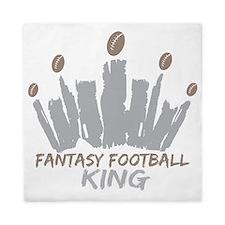 Fantasy Football King Queen Duvet