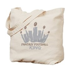 Fantasy Football King Tote Bag