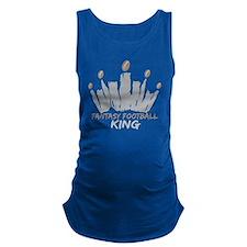 Fantasy Football King Maternity Tank Top
