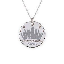 Fantasy Football King Necklace