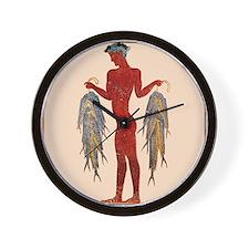 Minoan Fisherman- Wall Clock
