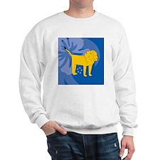 Lion Luggage Handle Wrap Sweatshirt