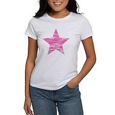 Pink Camo Star Tee