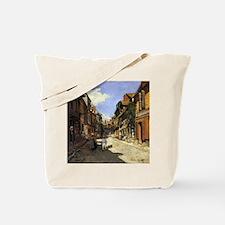The La Rue Bavolle at Honfleur Tote Bag
