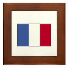 France - French Flag Framed Tile