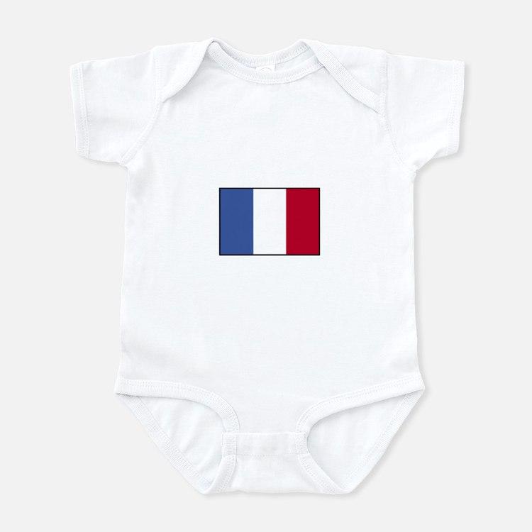 France - French Flag Infant Bodysuit