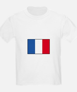 France - French Flag Kids T-Shirt