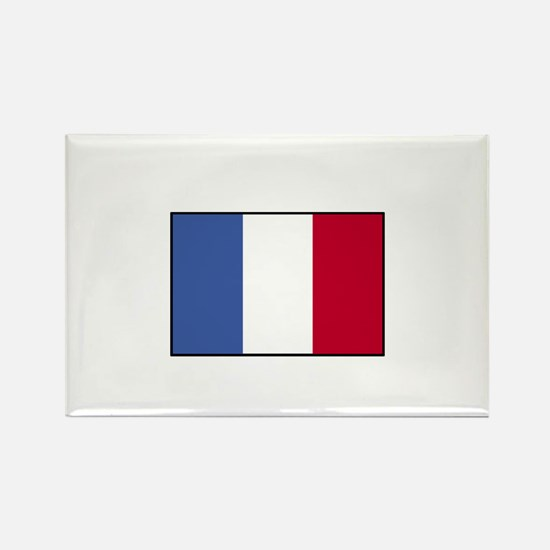France - French Flag Rectangle Magnet