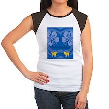 Lion Flip Flops Women's Cap Sleeve T-Shirt