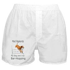 JRBarHoppingRR Boxer Shorts