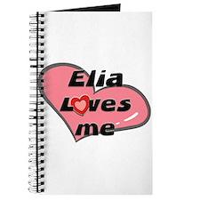 elia loves me Journal