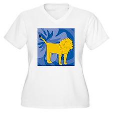 Lion Shower Curta T-Shirt