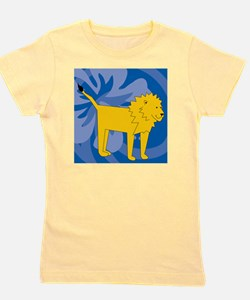 Lion Shower Curtain Girl's Tee