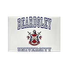 BEARDSLEY University Rectangle Magnet