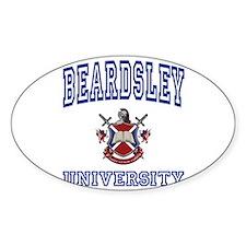 BEARDSLEY University Oval Decal