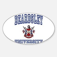 BEARDSLEY University Oval Decal