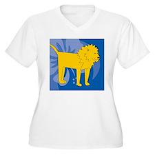 Lion Mens Wallet T-Shirt