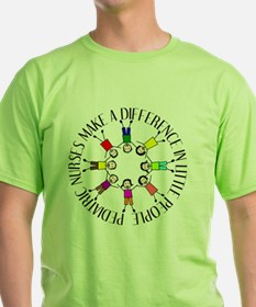 pediatric nurses circle WITH KIDS T-Shirt