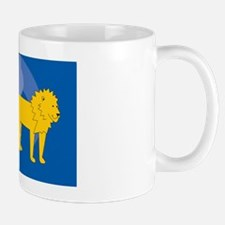 Lion Rectangle Car Magnet Mug